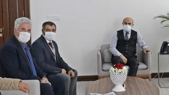 Mardin'deki gazetecilerden Vali Demirtaş'a ziyaret