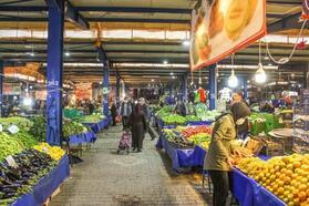 Karacabey'de pazar yerlerine karantina düzenlemesi