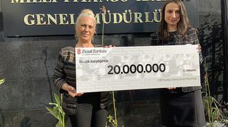 20 milyonluk şans!