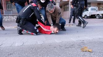 Yer: Konya... Polisle çatışmaya girip kaçtı!