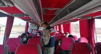 Jandarmadan, yolcu otobüslerinde HES kodu denetimi
