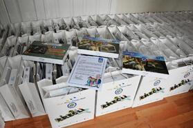 Karadeniz Ereğli belediyesinden 100 öğrenciye tablet
