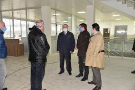 Yalova Valisi Erol, okul inşaatlarını inceledi