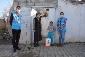 Kızıltepe'de çocuklara Yerli Malı Haftası sürprizi
