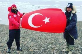 Antarktika Yarımadası'nda araştırmacı olarak görev aldı