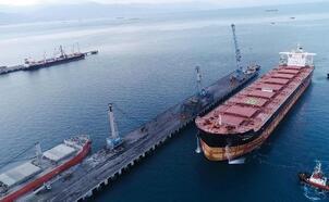Vali Doğan, Atakaş Limanı'nın rekorunu paylaştı