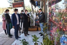 Başkan Beyoğlu, esnaf ve vatandaşlarla buluştu