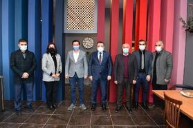 Başkan Genç'ten TSYD Trabzon Şubesi'ne ziyaret