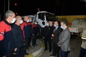 Vali Erol, kamu görevlilerini ziyaret etti
