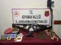 Kahta'da uyuşturucu ticaretine 2 gözaltı