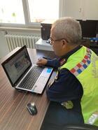 Jandarmadan uzaktan trafik eğitimi