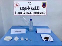 Kırşehir'de 2 uyuşturucu şüphelisi adliyeye sevk edildi