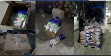 Gaziantep'te 50 bin 402 paket sahte deterjan ele geçirildi