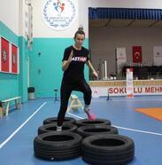 Lüleburgaz'da gençlere ücretsiz POMEM hazırlık parkur kursu