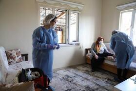 'Evde Sağlık Hizmeti' ile risk grubundaki vatandaşlara destek