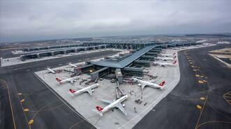 İstanbul Havalimanı'nda uçuşlar kesintisiz devam ediyor