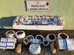Lüleburgaz'da kaçakçılık operasyonu: 2 gözaltı