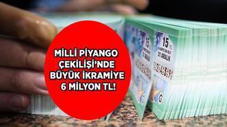 Milli Piyango çekilişinde büyük ikramiye 6 milyon TL! Milli Piyango 19 Ocak çekilişi saat kaçta?