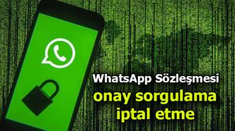 WhatsApp sözleşmesini kabul edip etmediğinizi nasıl anlayabilirsiniz?