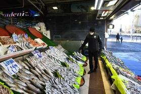Kayseri'de kaçak avlanan turna balığı satışına 5 bin 455 TL ceza