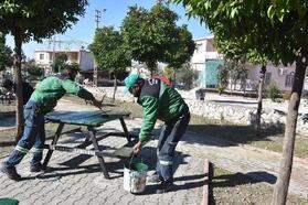 Ceyhan Belediyesi, kırsal mahalleleri temizliyor