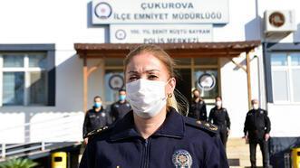 Adana'nın ilk kadın ilçe emniyet müdürü göreve başladı!