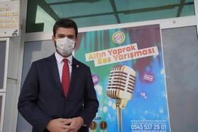 Erbaa'da ses yarışmasına yoğun ilgi