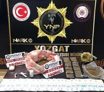 Yozgat'ta uyuşturucudan 1 kişi tutuklandı