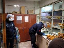 Erbaa'da zabıta ekipleri fırınları denetledi