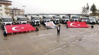 Alaşehir Belediyesi'nin araç filosu daha da genişledi