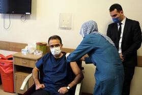 Çankırı Valisi Abdullah Ayaz, koronavirüs aşısı oldu
