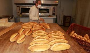 Burdur'da 200 gram ekmek 1,5 lira