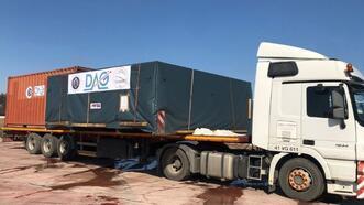 Gözlemevi için teleskop Erzurum'a ulaşıyor!