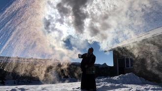 Kars, buz kesti