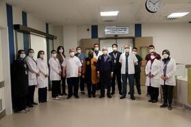 Kayseri Şehir Hastanesi'nde ilk kemik iliği nakli başarıyla gerçekleşti