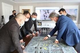 Başkan Palancıoğlu, otopark çalışmalarını inceledi