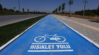 Bisiklet yolu projeleri tüm hızıyla sürüyor