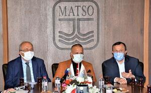 MATSO, AK Parti heyetine üyelerinin sorun ve taleplerini iletti