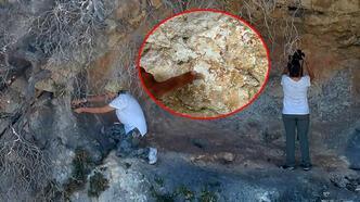 Mersin'de heyecanlandıran keşif! 8 bin yıllık kaya resimleri bulundu