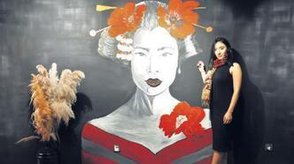 Duvarlar sanat eserine dönüyor