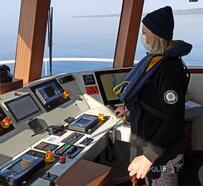 Deniz asayişi Yeliz Kaptan'dan soruluyor
