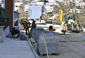 Osmangazi'de cadde ve sokaklar yenileniyor