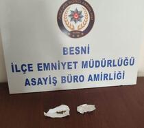Uyuşturucu ile yakalanan şüpheli gözaltına alındı