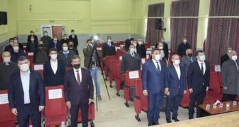 Çay'da İstiklal Marşı'nın kabulü töreni
