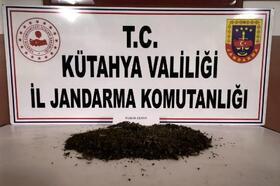 Gediz'de uyuşturucu operasyonu: 2 gözaltı