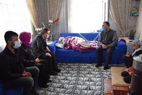 Başkan Beyoğlu'ndan böbrek yetmezliği hastası kadına destek