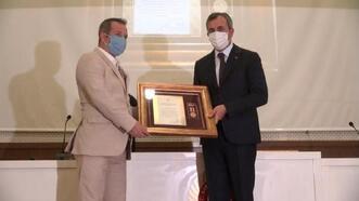 Kırıkkale'de, Devlet Övünç Madalyası ve Beratı töreni yapıldı