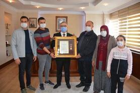 Niğde'de Devlet Övünç Madalyası ve Beratı töreni yapıldı