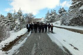 Turist rehberleri Yozgat'ı gezdi