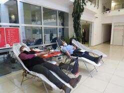 SGK personelinden kan bağışı